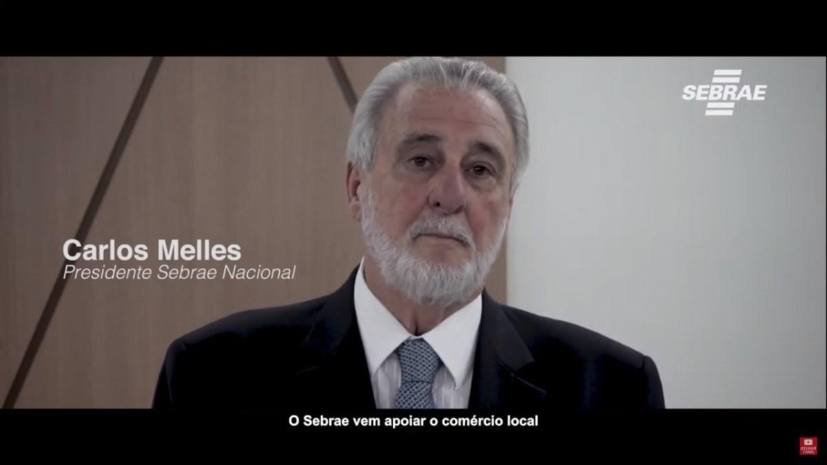 IMAGEM: Presidente do Sebrae com Covid