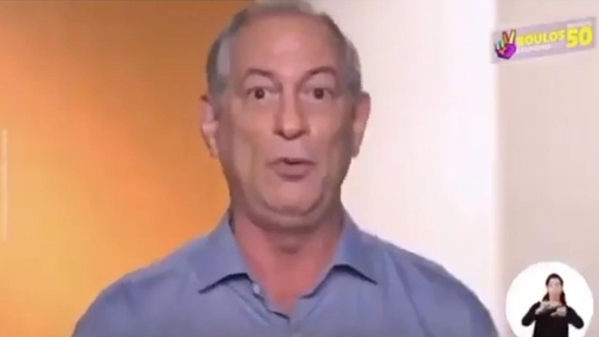 IMAGEM: Ciro Gomes festeja vitória apertada do PDT em Fortaleza