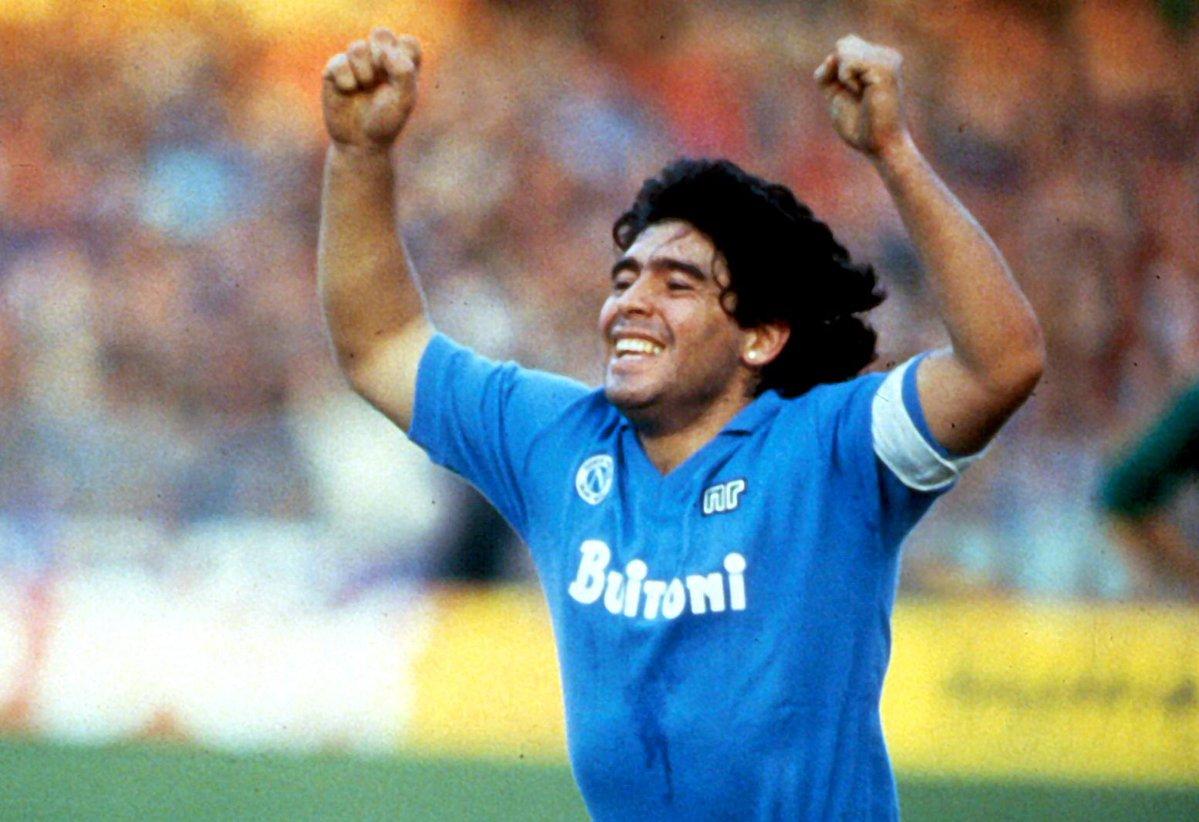 IMAGEM: Estádio receberá nome de Maradona, diz prefeito de Nápoles