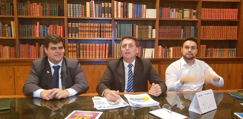 IMAGEM: Pesquisa eleitoral é 'arma política para quem tem recurso', diz Bolsonaro
