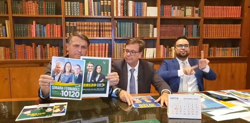 IMAGEM: Bolsonaro eleitoral