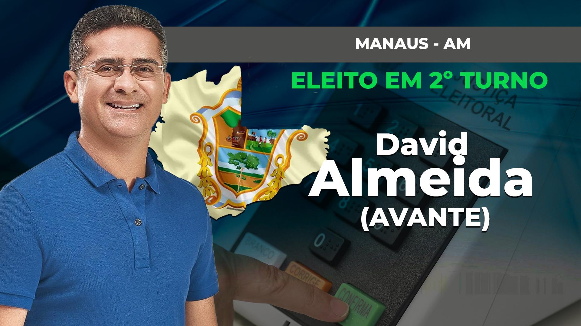 IMAGEM: MANAUS: DAVID ALMEIDA É ELEITO