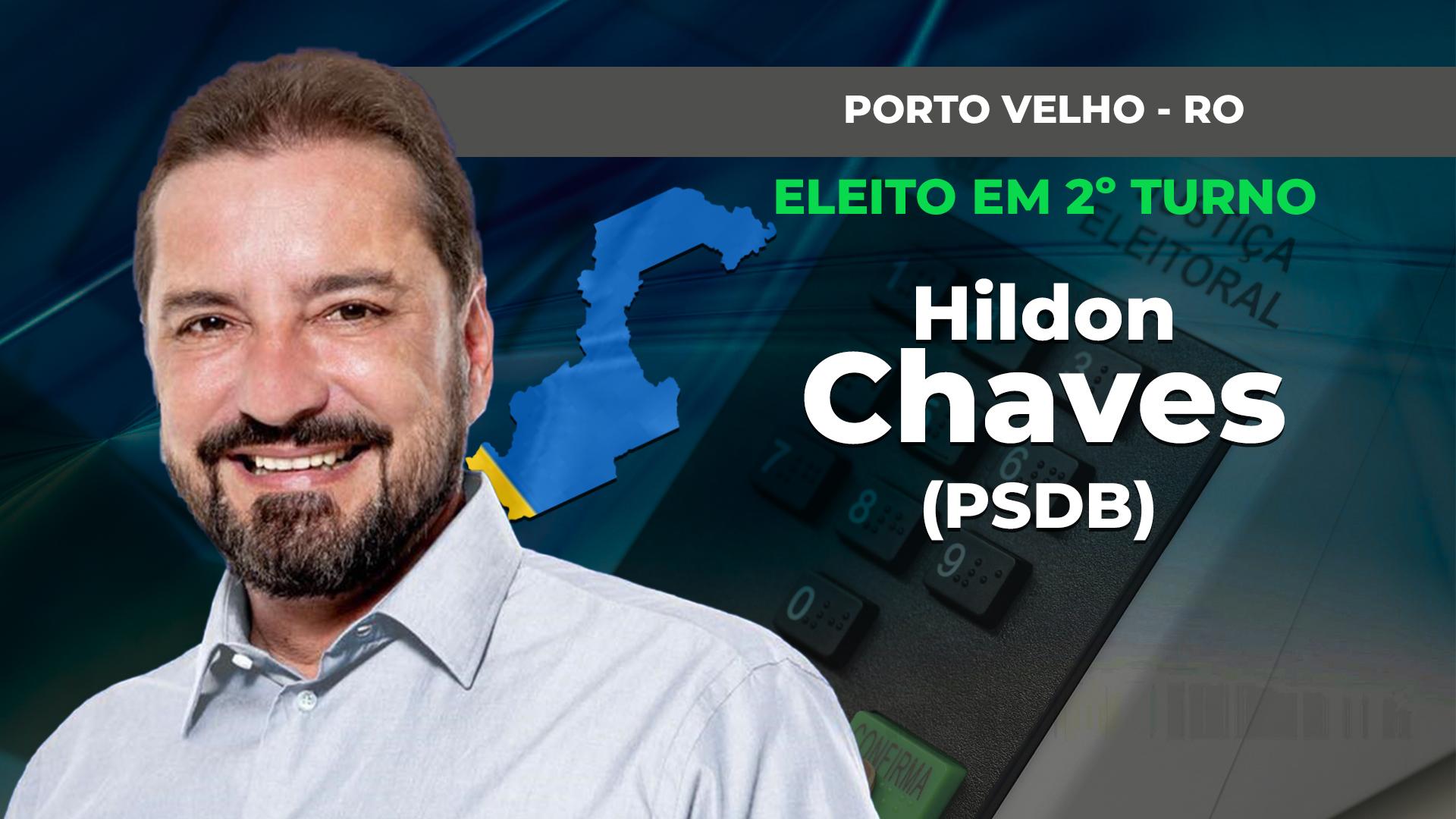 IMAGEM: PORTO VELHO: HILDON CHAVES É ELEITO