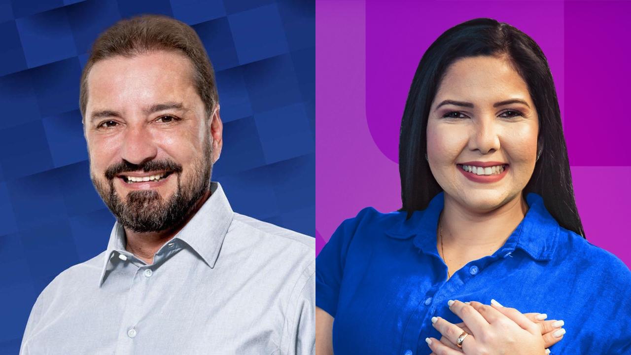 IMAGEM: Ibope em Porto Velho: Hildon Chaves, 60%; Cristiane Lopes, 40%