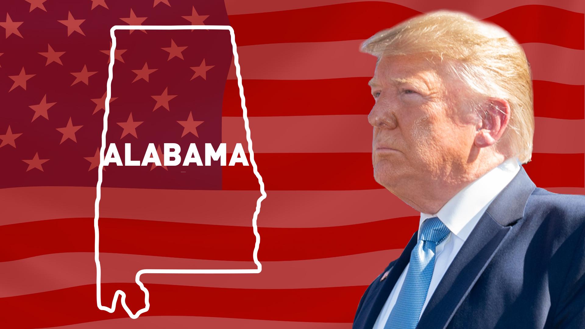 IMAGEM: Trump vence no Alabama