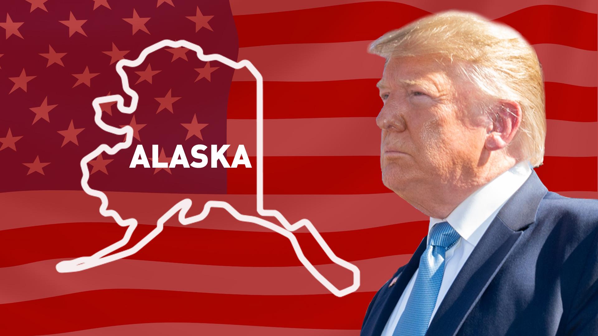 IMAGEM: Trump vence no Alaska