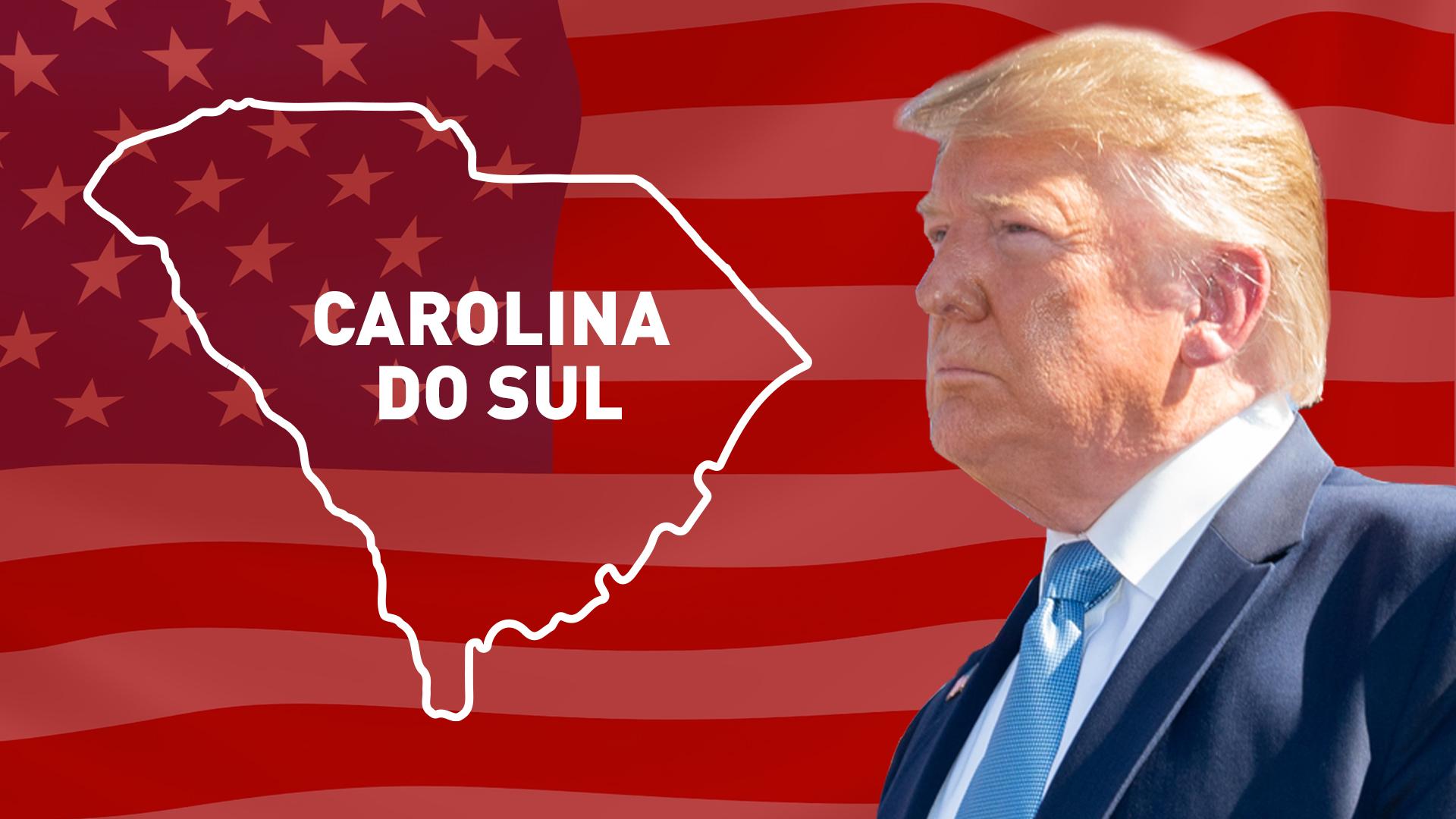 IMAGEM: Trump vence na Carolina do Sul