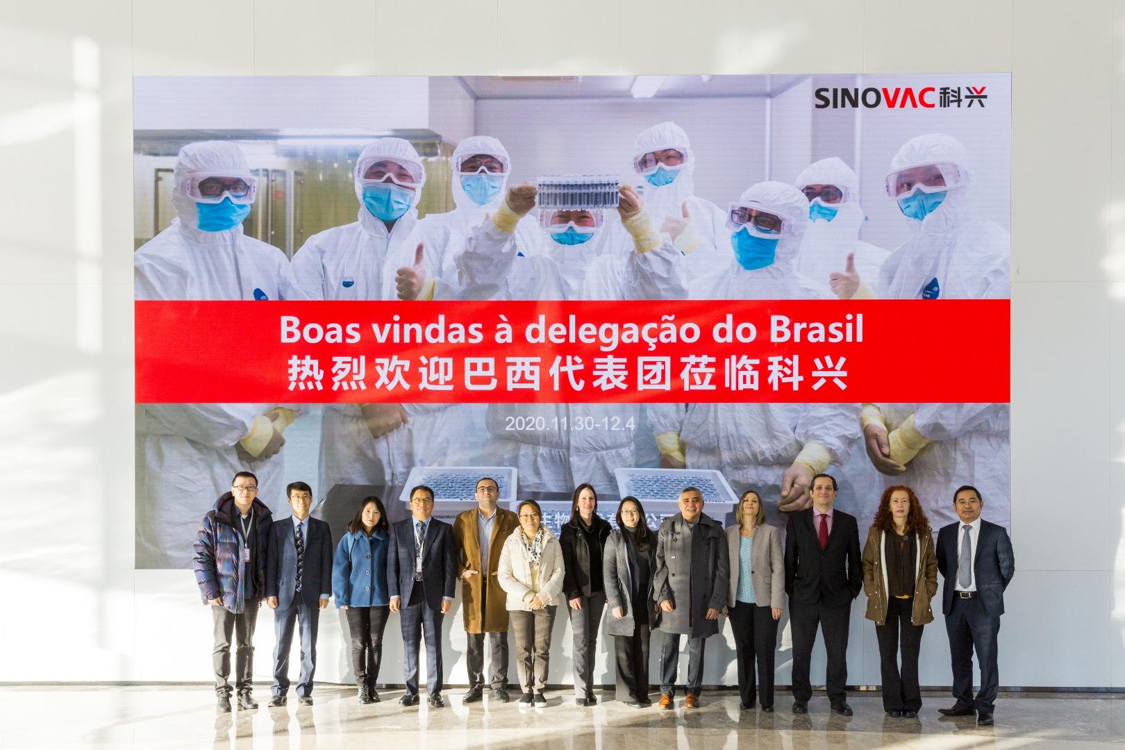 IMAGEM: Anvisa conclui inspeção da Coronavac e da AstraZeneca na China