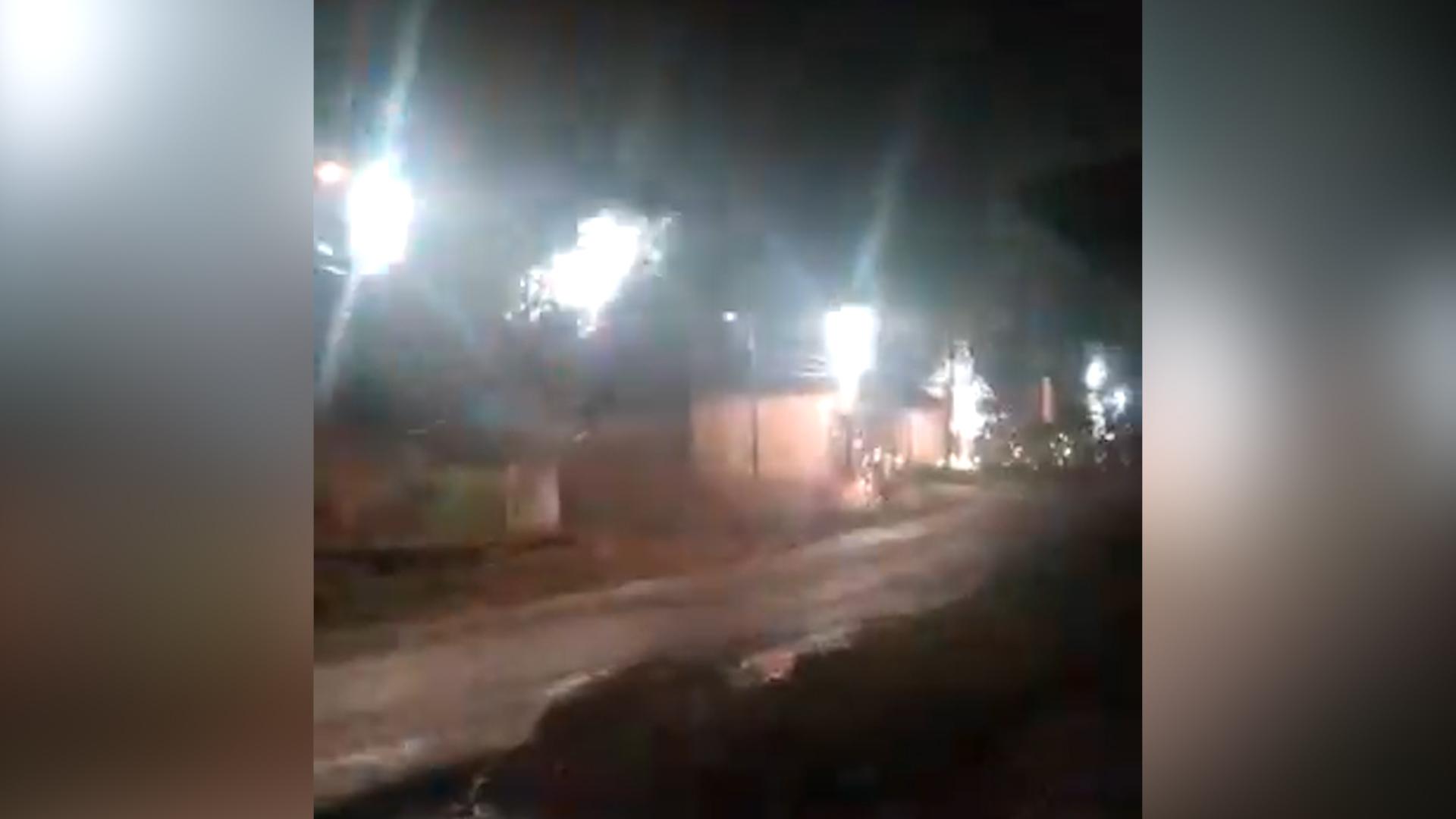 IMAGEM: Curto-circuito em Macapá