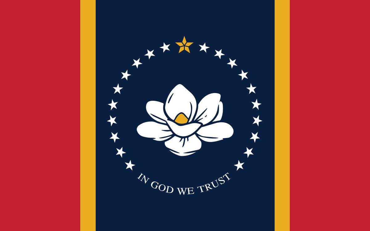 IMAGEM: Eleitores no Mississippi trocam a bandeira, que tinha a marca dos Confederados