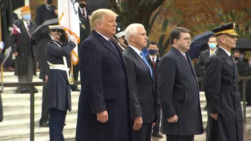 """IMAGEM: """"Eu sei que Trump nunca vai aceitar a derrota"""""""