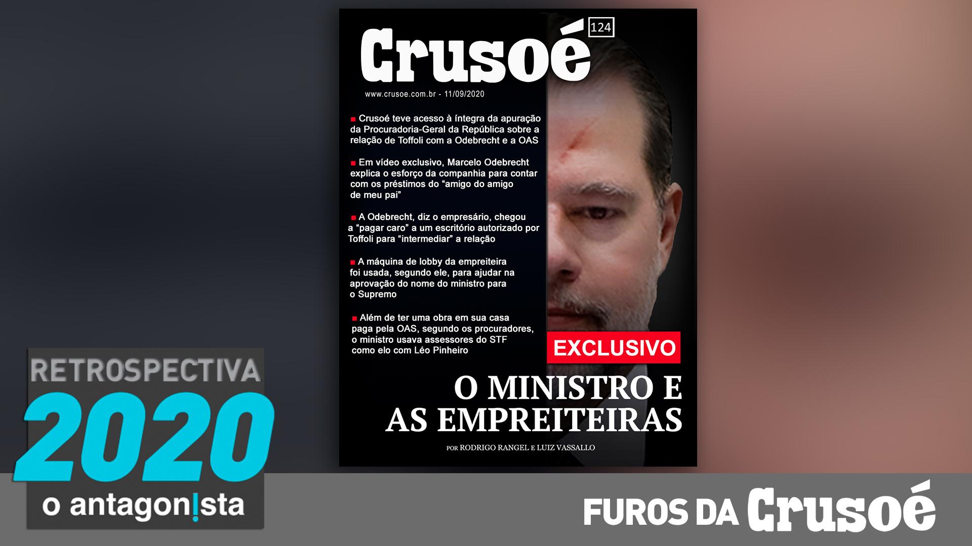 IMAGEM: Furos da Crusoé: o ministro e as empreiteiras