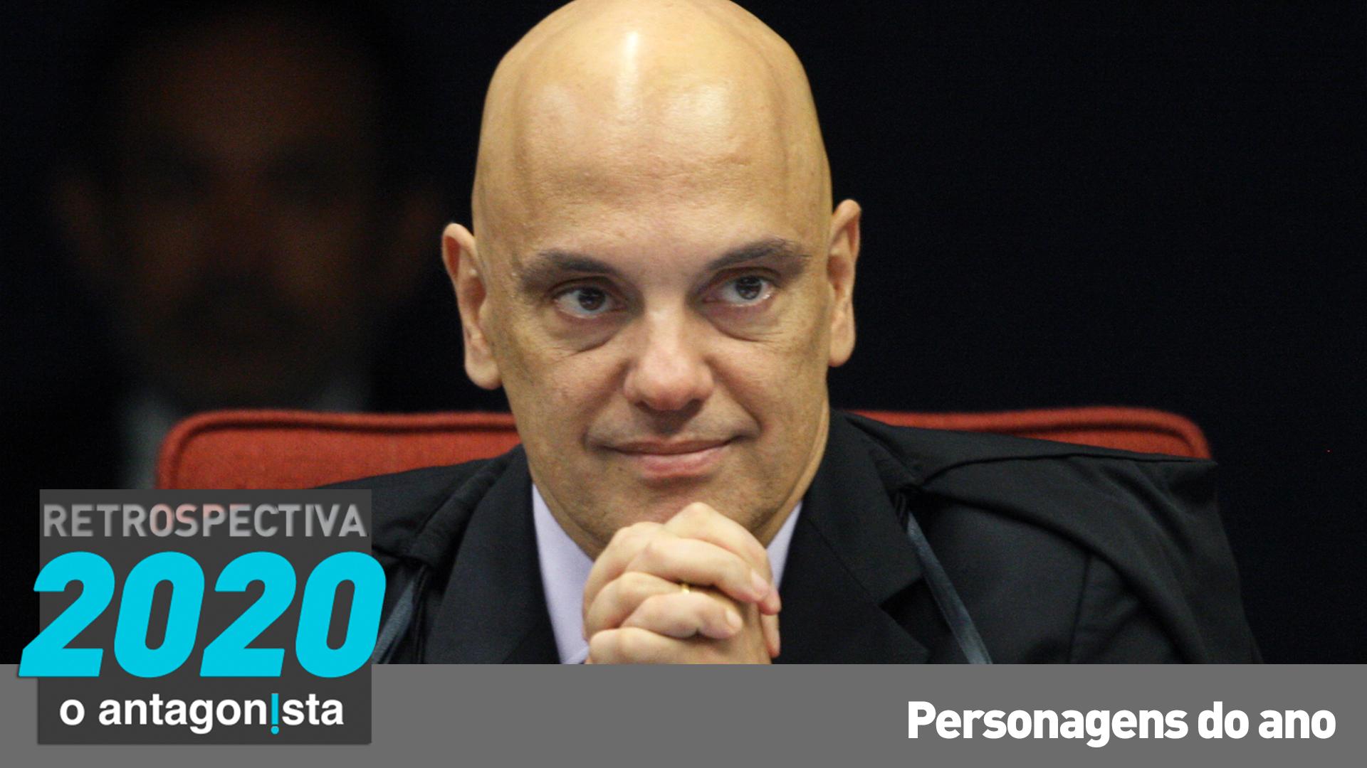 IMAGEM: Alexandre de Moraes: a fera feroz contra Bolsonaro