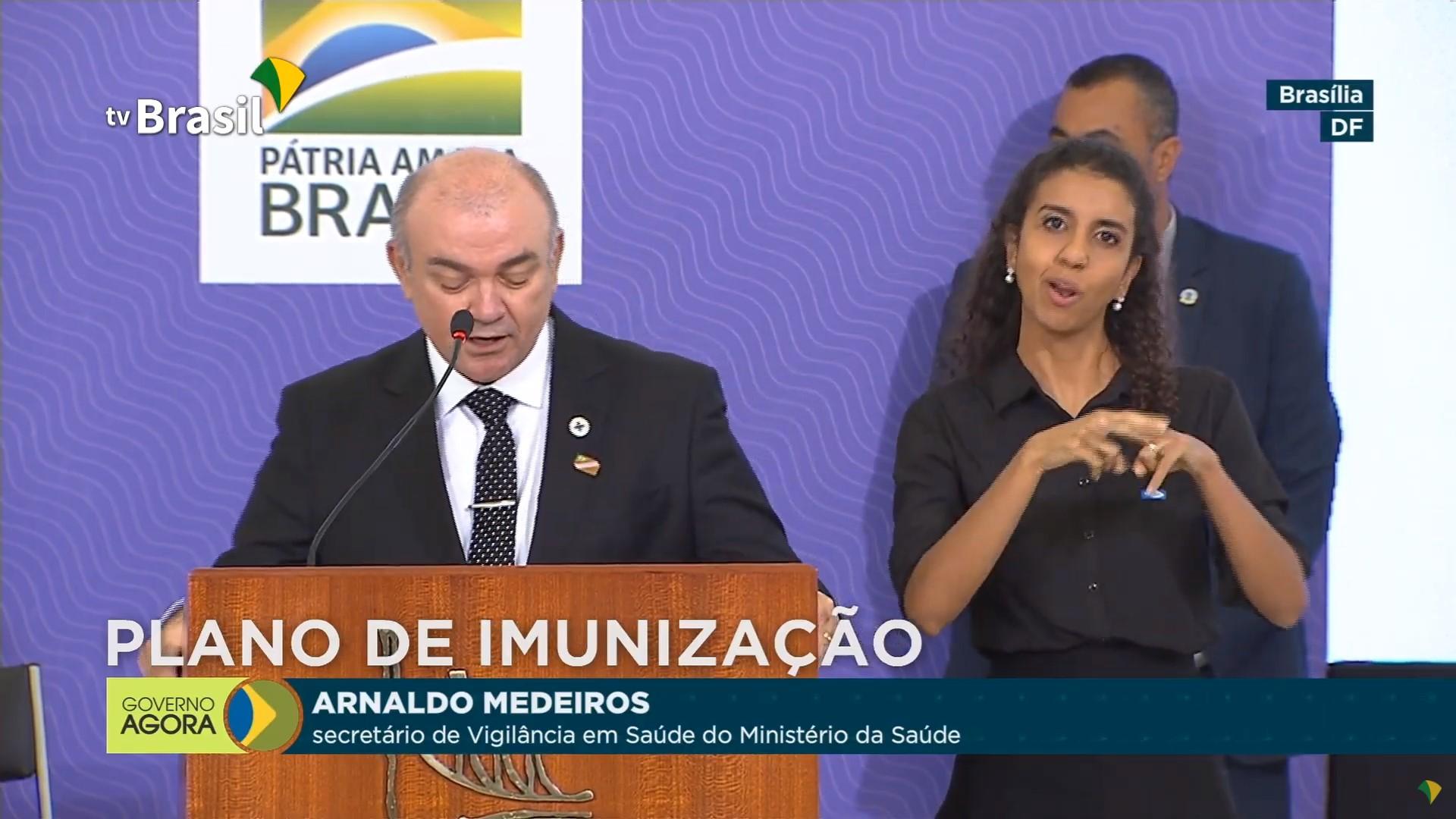 IMAGEM: Saúde lança campanha para 'esclarecer' sobre eficácia de vacinas