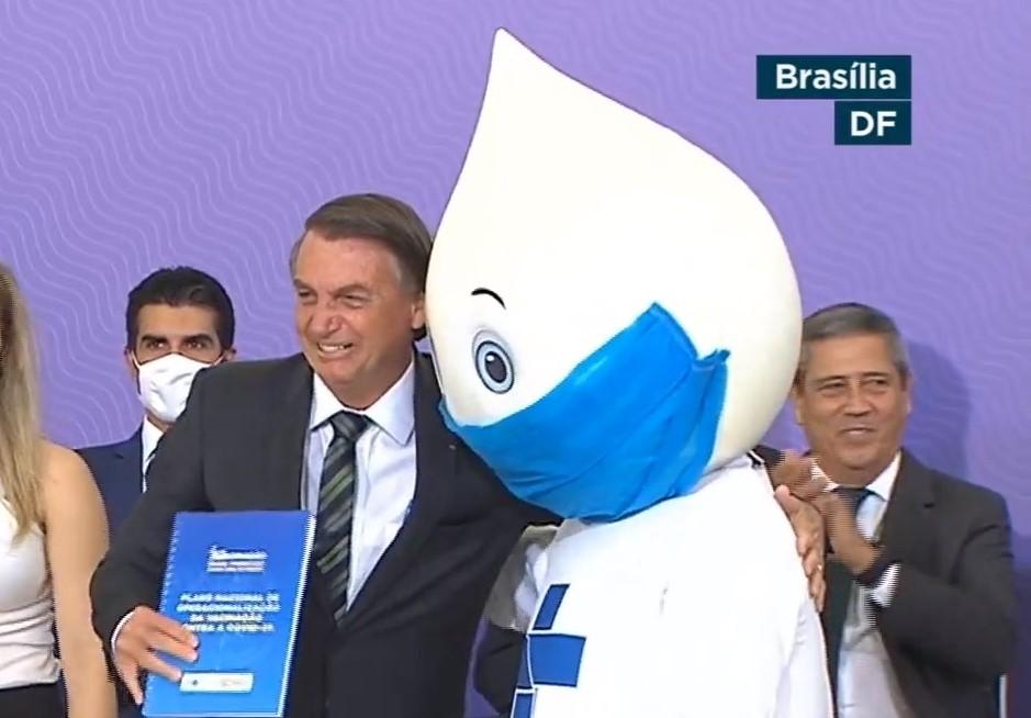 IMAGEM: Vacina é responsabilidade de Bolsonaro para 24,5% dos brasileiros, diz pesquisa CNT/MDA