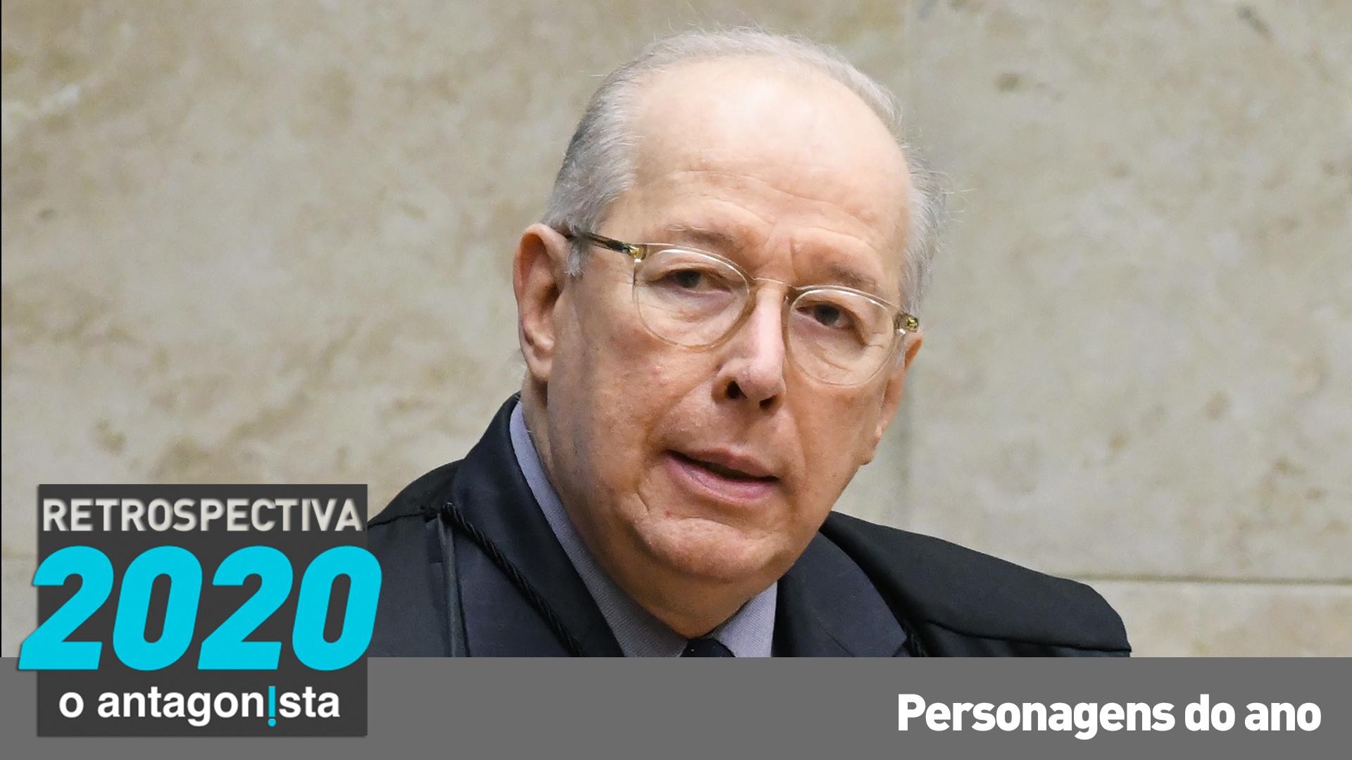 IMAGEM: Celso de Mello: a despedida do decano antibolsonarista