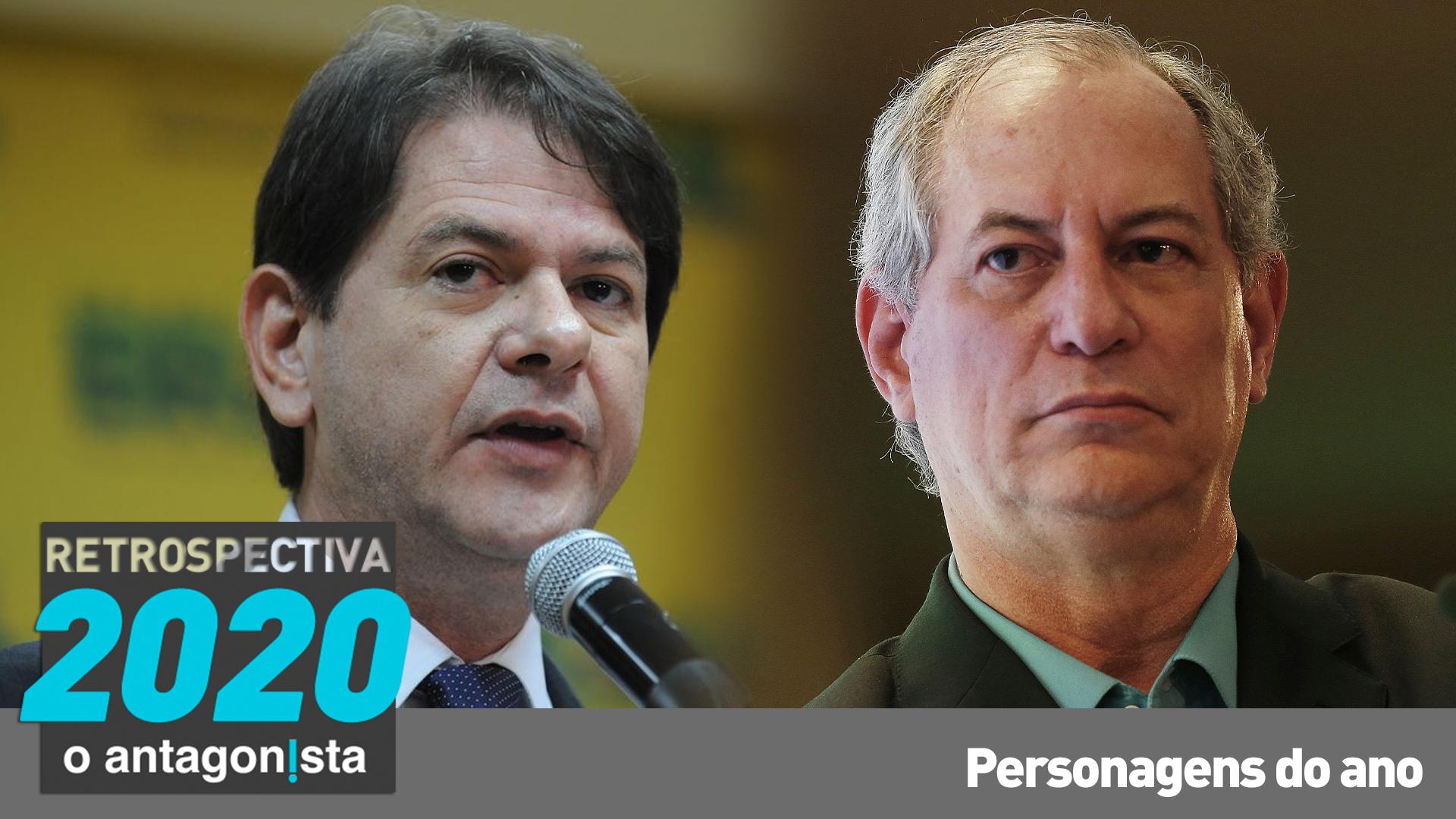 IMAGEM: Ciro e Cid Gomes, os irmãos tresloucados