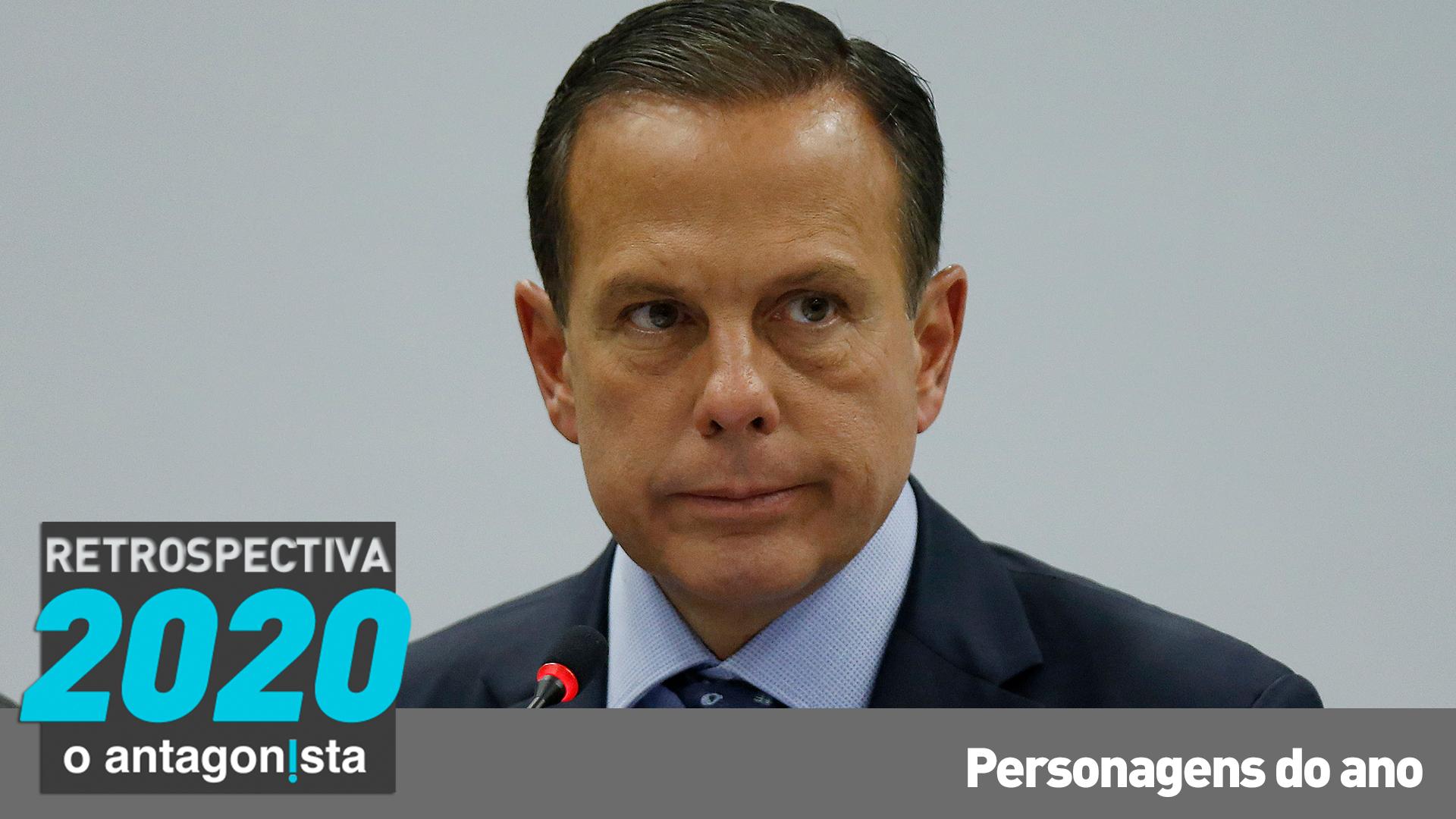 IMAGEM: No palanque eterno de João Doria