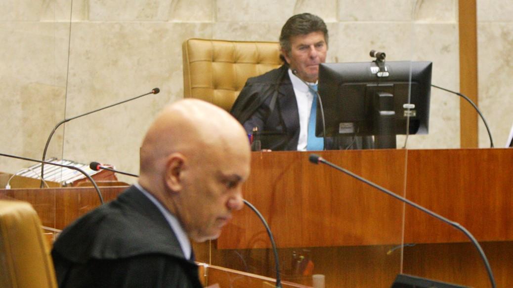 IMAGEM: STF retoma em fevereiro julgamento sobre interrogatório de Bolsonaro