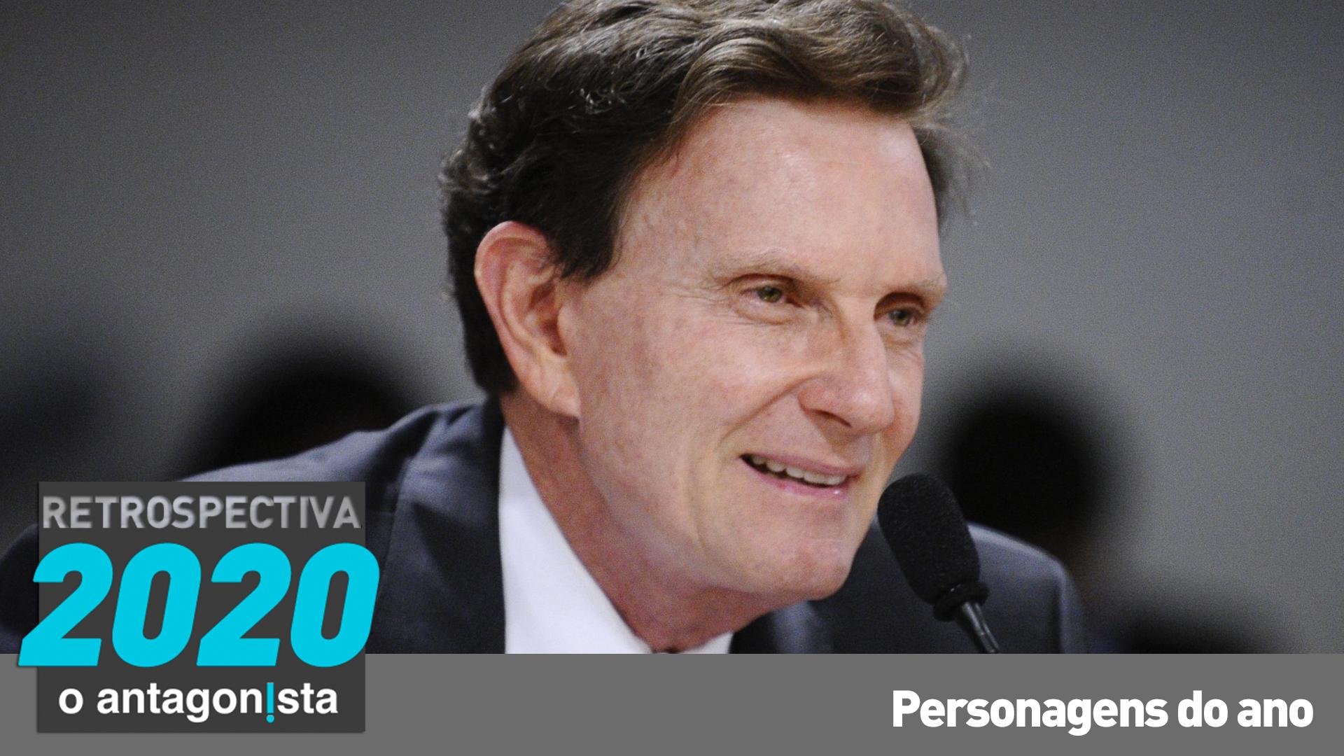 IMAGEM: Marcelo Crivella, da Prefeitura para a cadeia