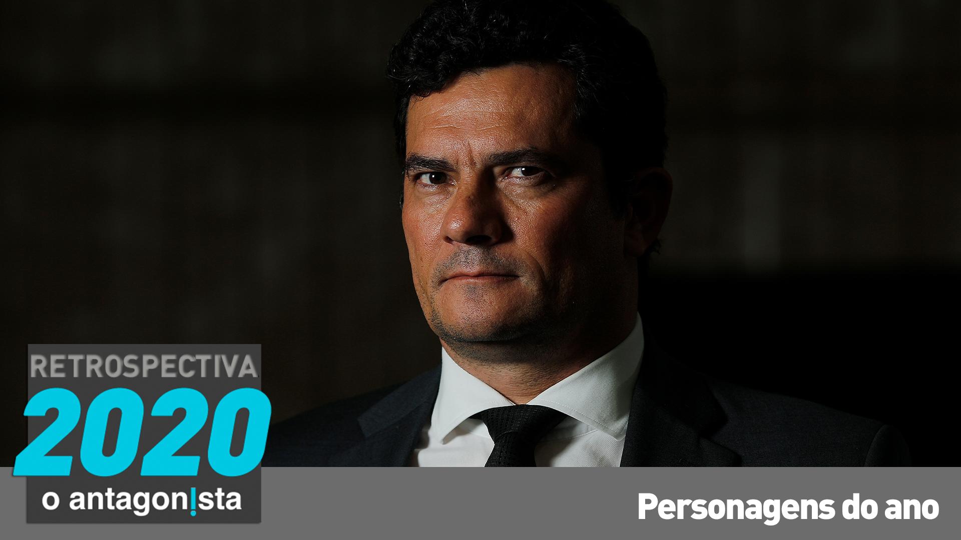 IMAGEM: A saída de Moro e a bomba no colo de Bolsonaro