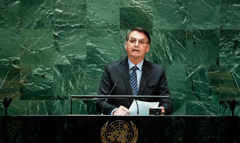 IMAGEM: Bolsonaro confirma viagem a Nova York para Assembleia-Geral da ONU