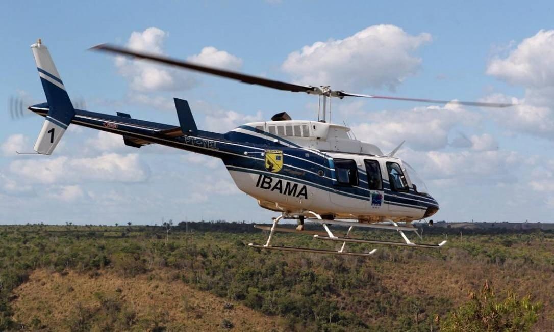 IMAGEM: Piloto morre em queda de helicóptero do Ibama no Pantanal