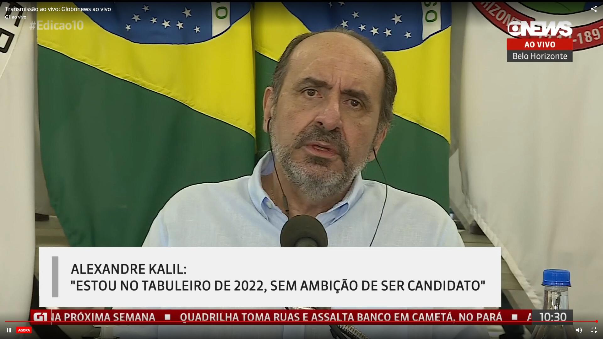 """IMAGEM: """"Estou no tabuleiro"""", diz Kalil sobre concorrer à Presidência"""