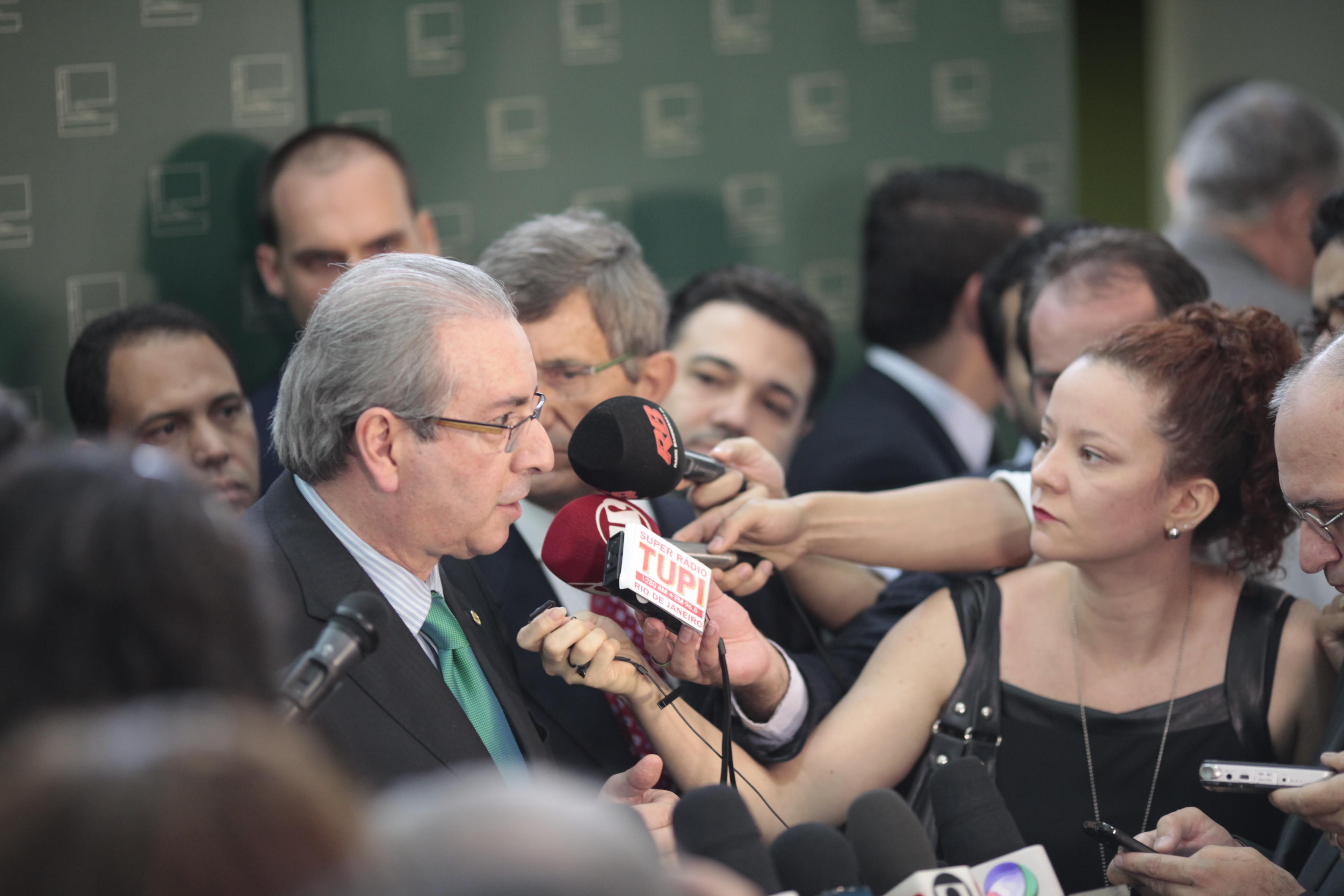 IMAGEM: De volta, Eduardo Cunha quer recompor MDB da Câmara e dar governabilidade a Bolsonaro