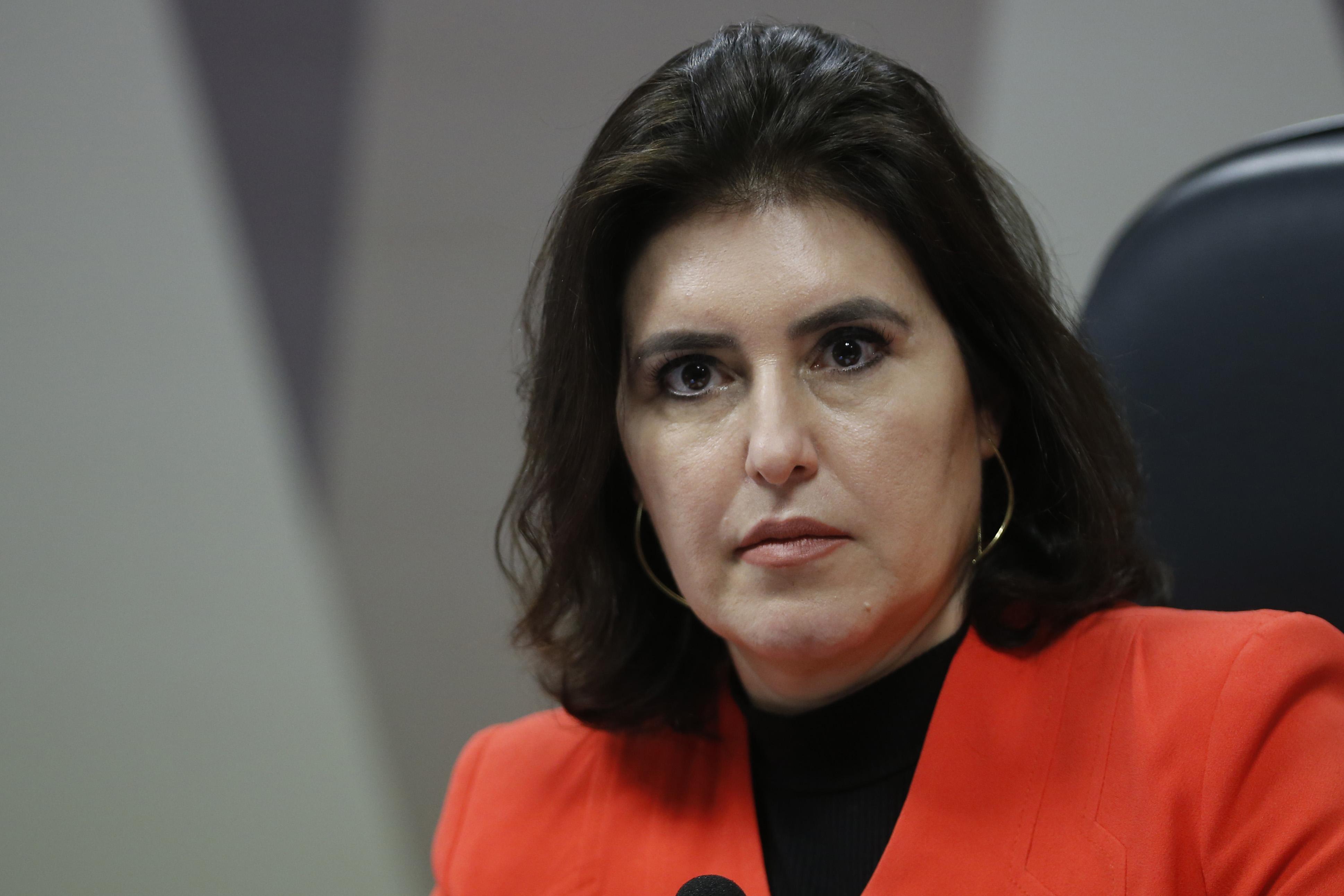 IMAGEM: Simone Tebet cobra instauração de CPI da Covid-19