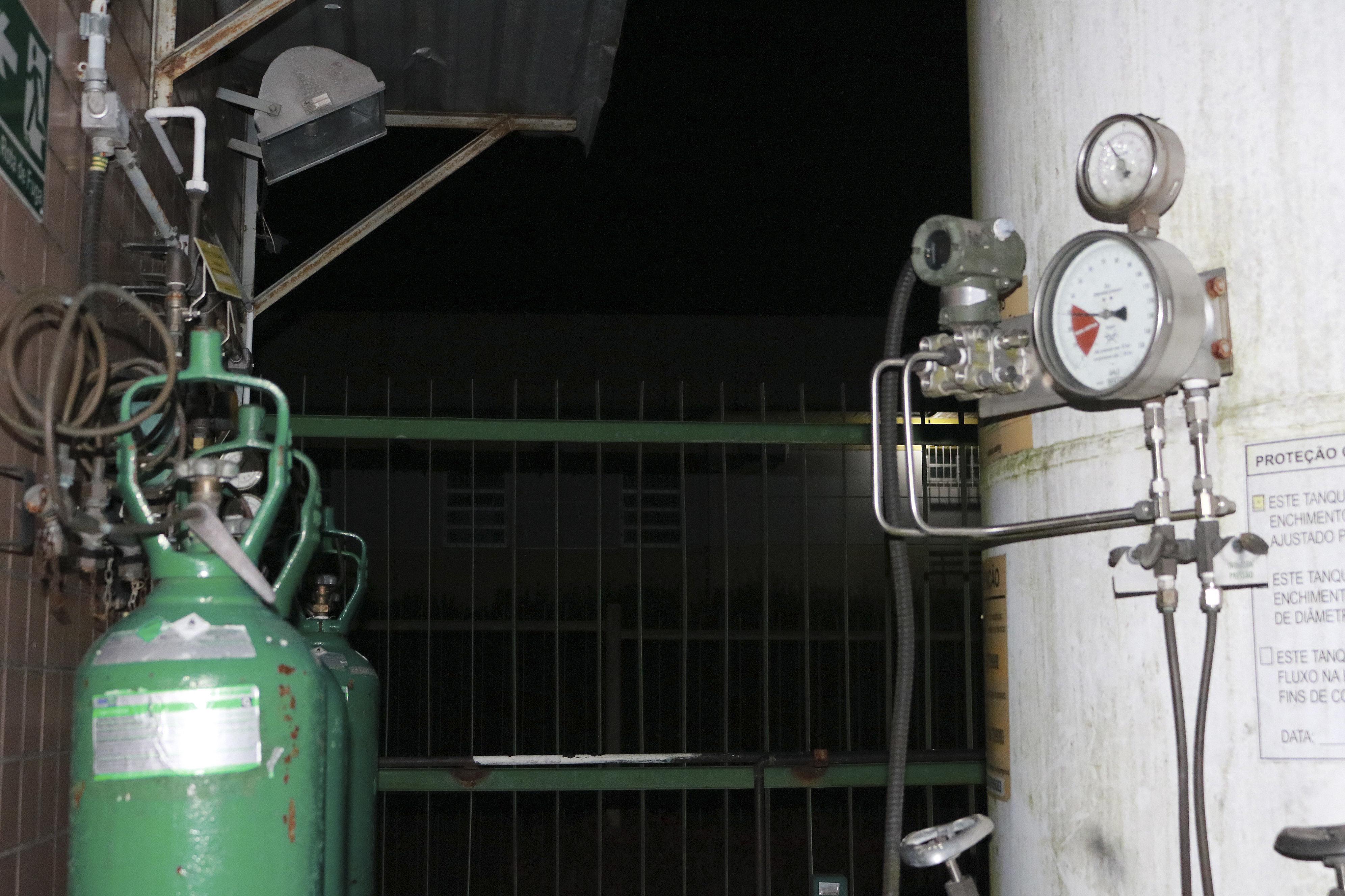 IMAGEM: Distribuidora de oxigênio de Brasília recusa novos clientes