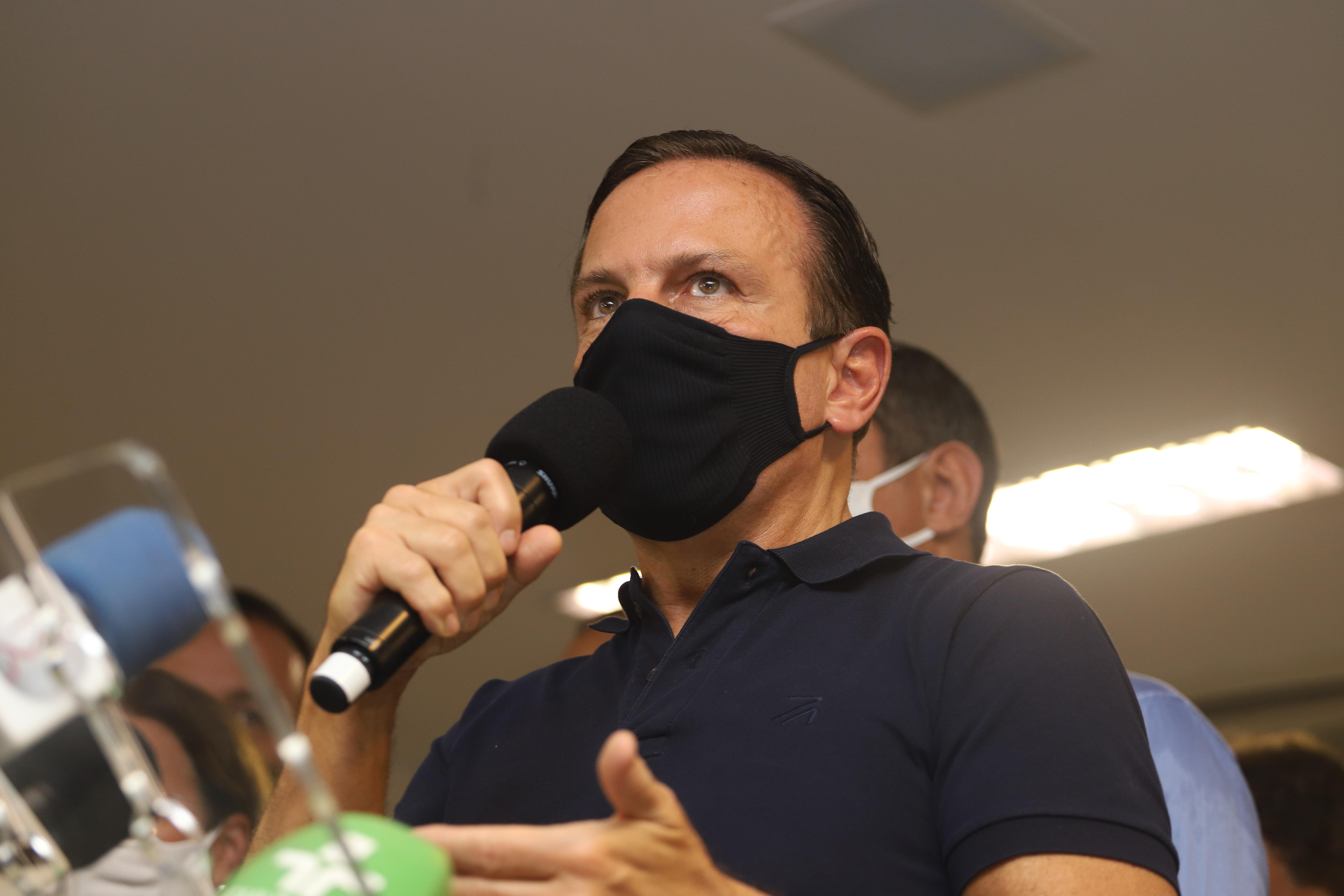 IMAGEM: Ministério da Saúde rebate Doria e diz que tucano mente