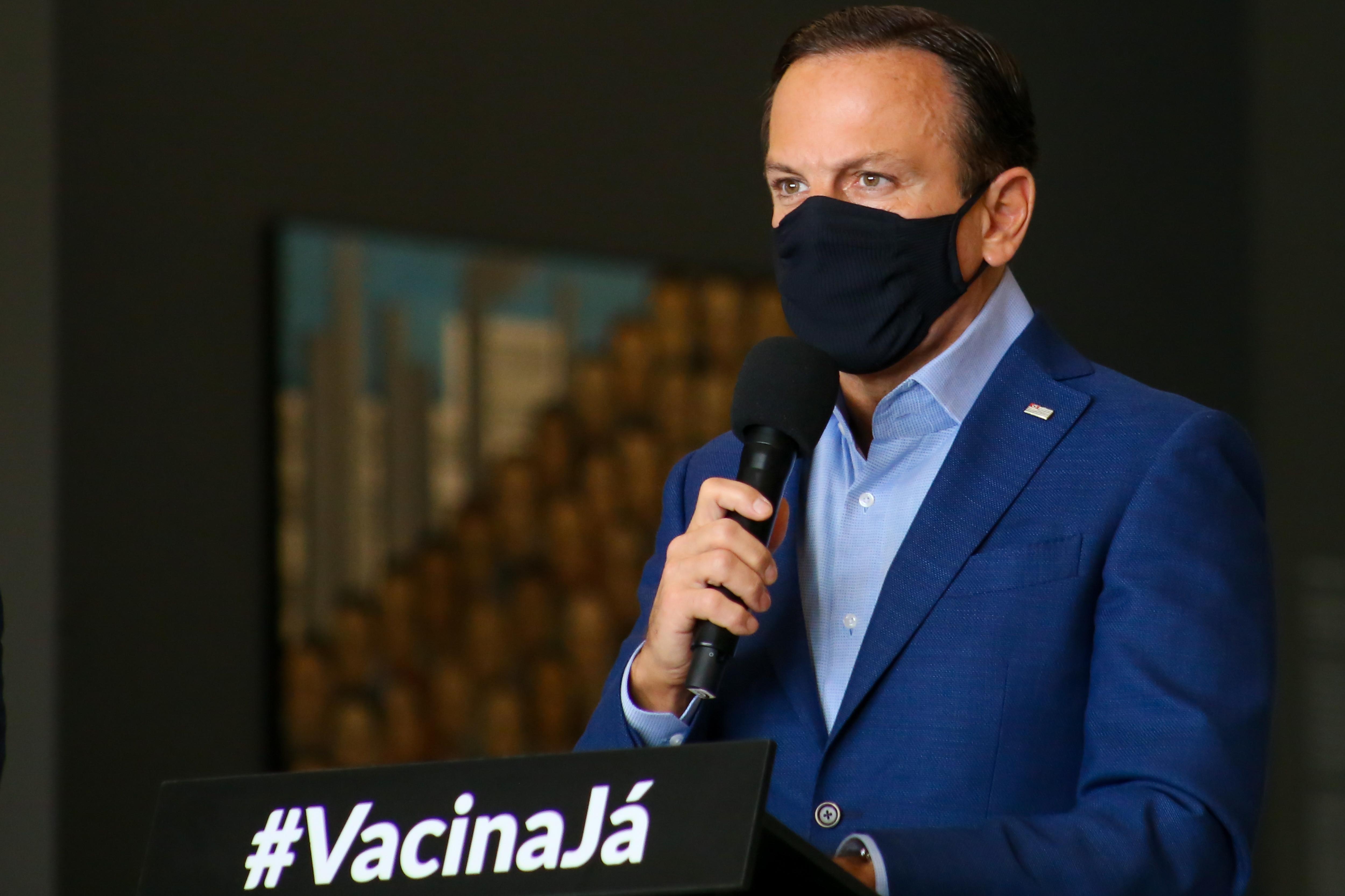 IMAGEM: 23 inquéritos em São Paulo investigam ameaças a Doria