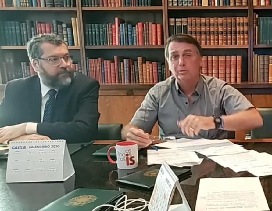 IMAGEM: Itamaraty protesta contra banimento de Trump das redes sociais