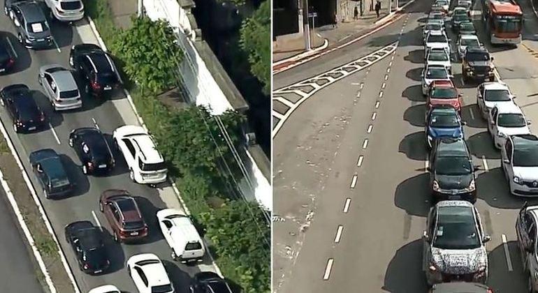 IMAGEM: Buzinaço contra Doria em São Paulo