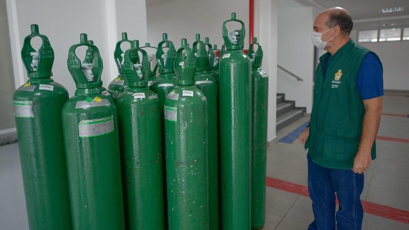 IMAGEM: 47% dos municípios podem ter falta de oxigênio nos próximos dias