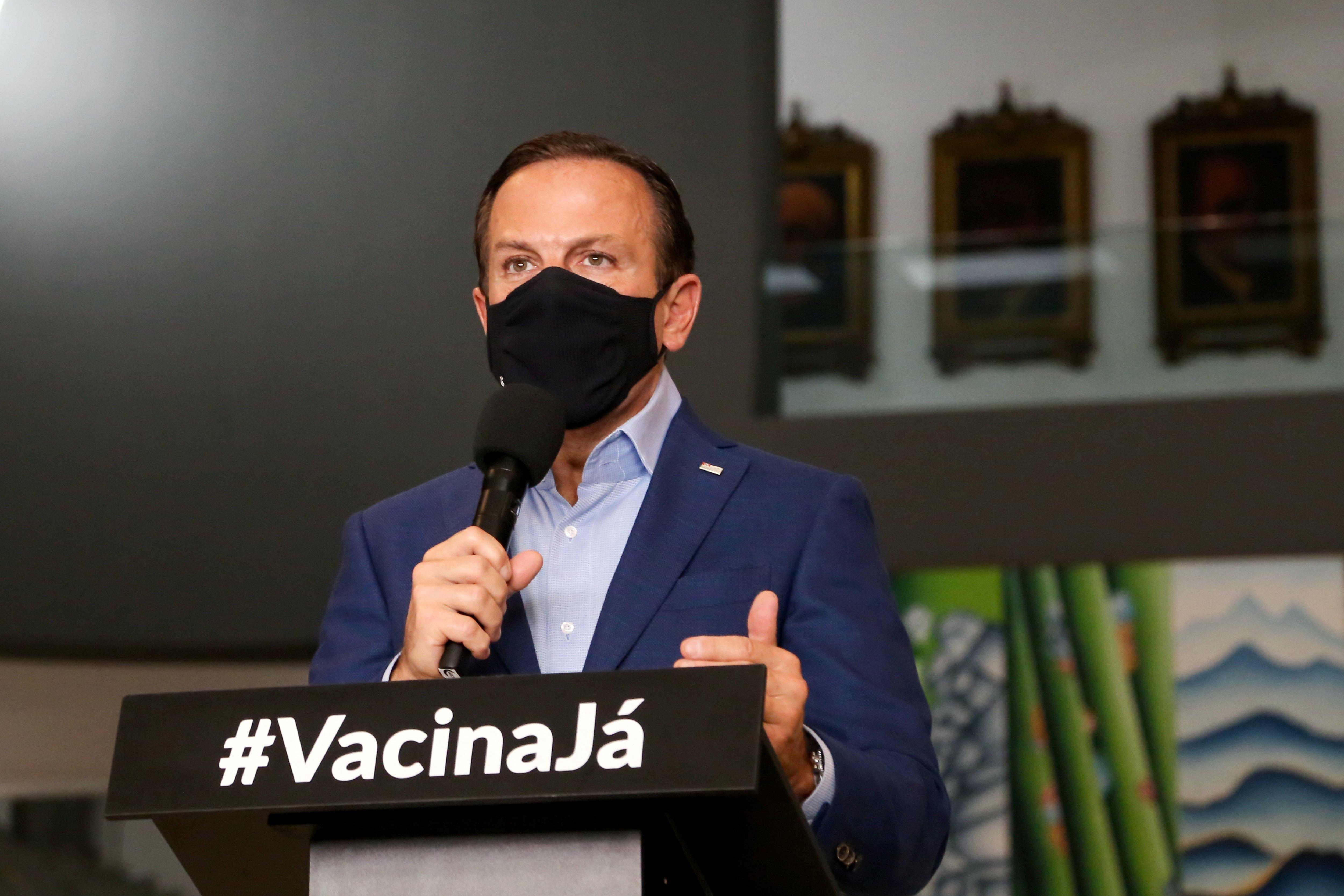 """IMAGEM: """"O responsável por este trágico momento é Jair Bolsonaro"""""""