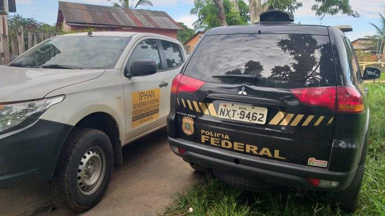 """IMAGEM: PF prende """"caçador de relíquias"""" no Acre"""