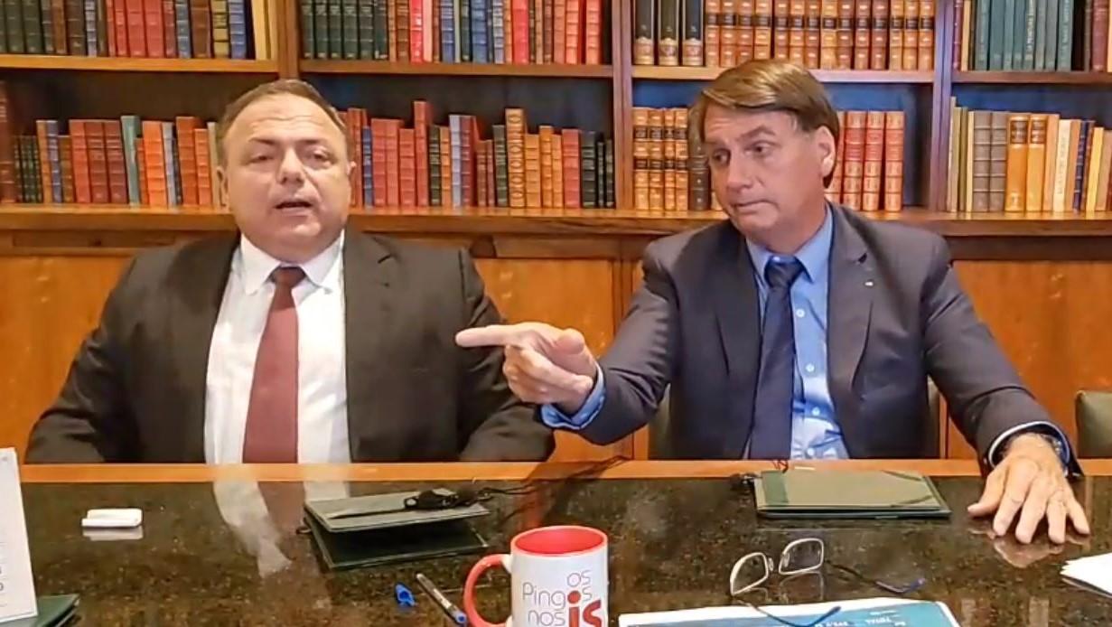 IMAGEM: Bolsonaro e Doria: tudo por uma foto, uma imagem de TV