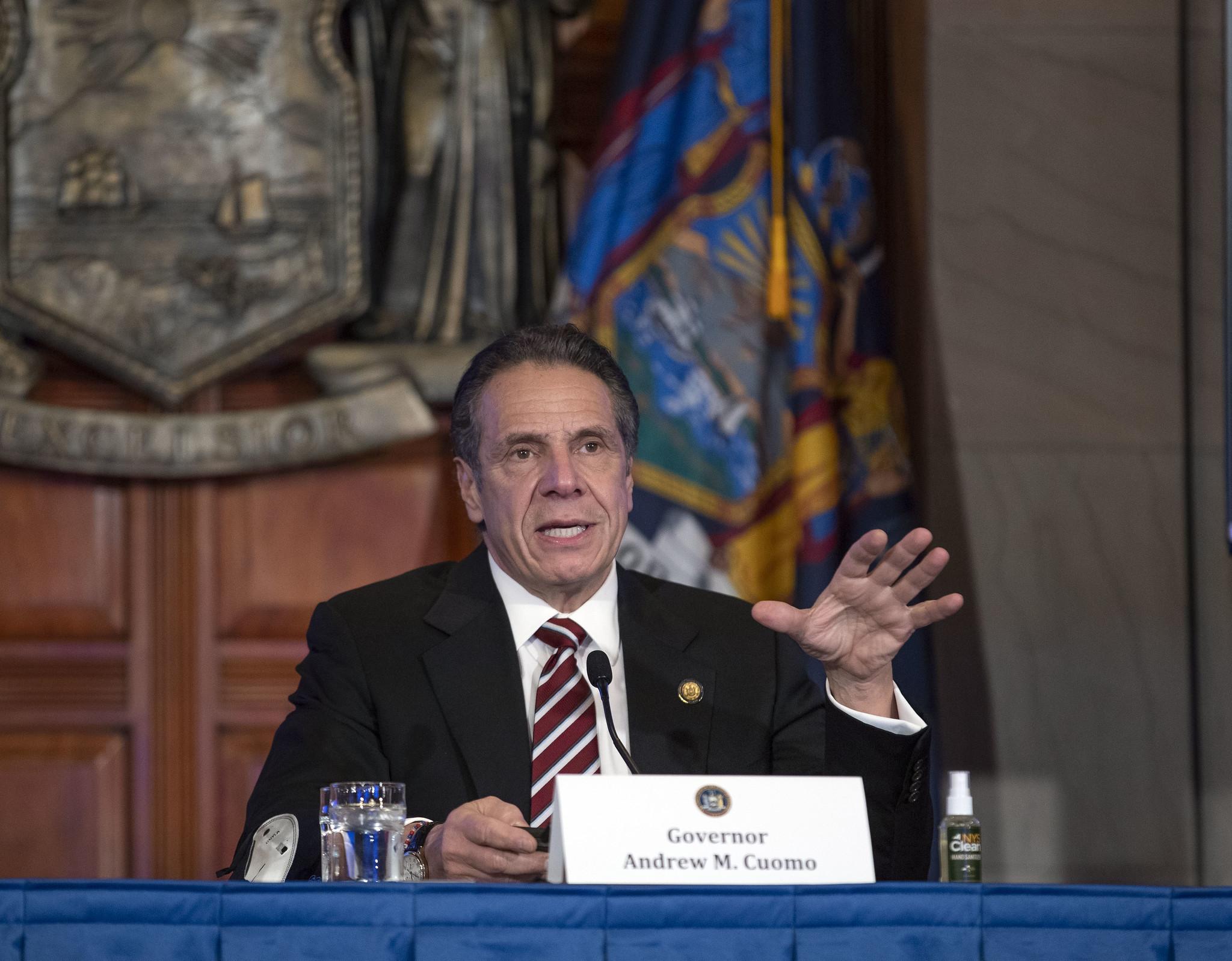 IMAGEM: Governador confirma 1º caso de variante do novo coronavírus em Nova York