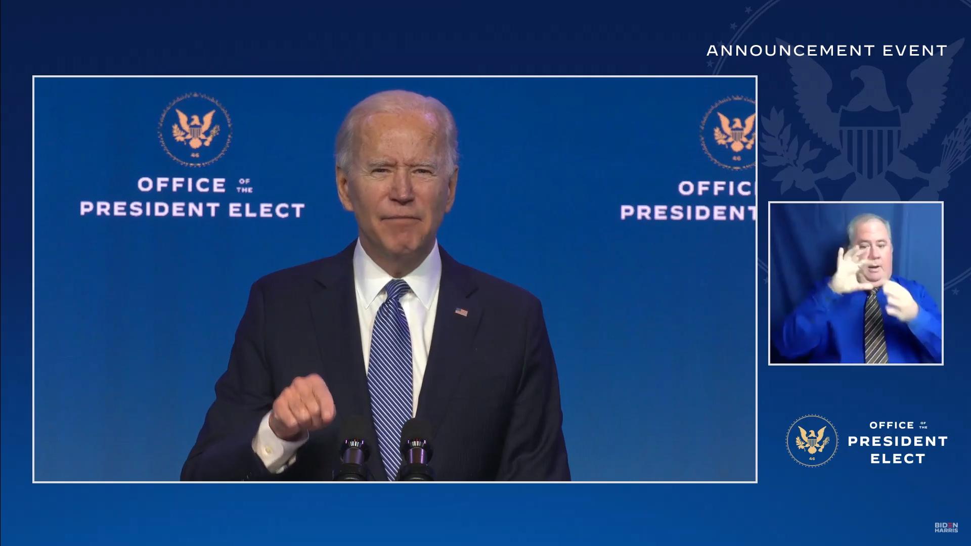 IMAGEM: Biden anuncia novo procurador-geral dos EUA