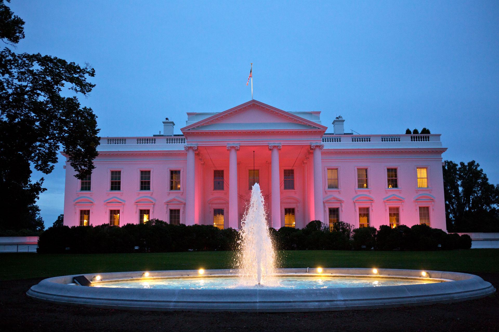 IMAGEM: Formulário de contato da Casa Branca permite escolha do pronome