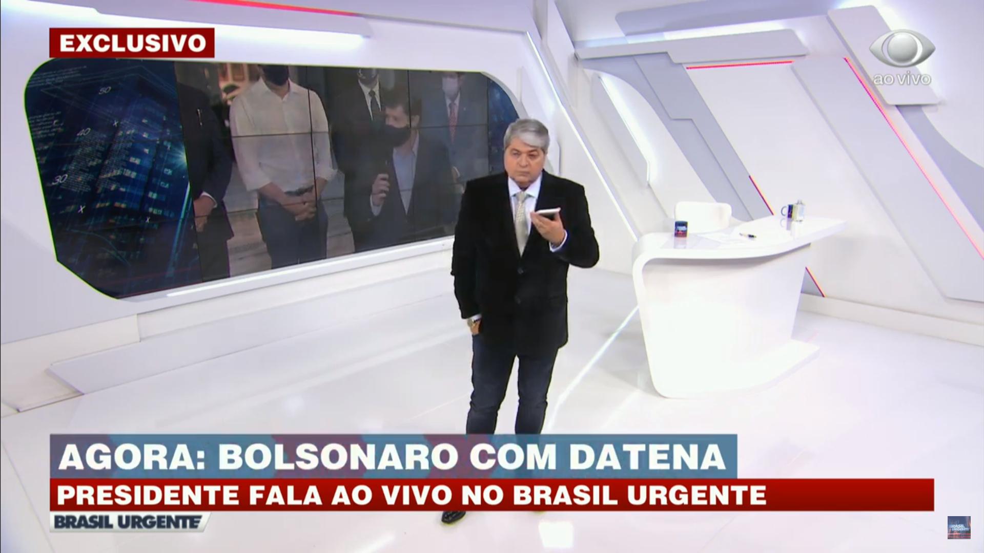 """IMAGEM: Bolsonaro: """"Só Deus me tira daqui"""""""