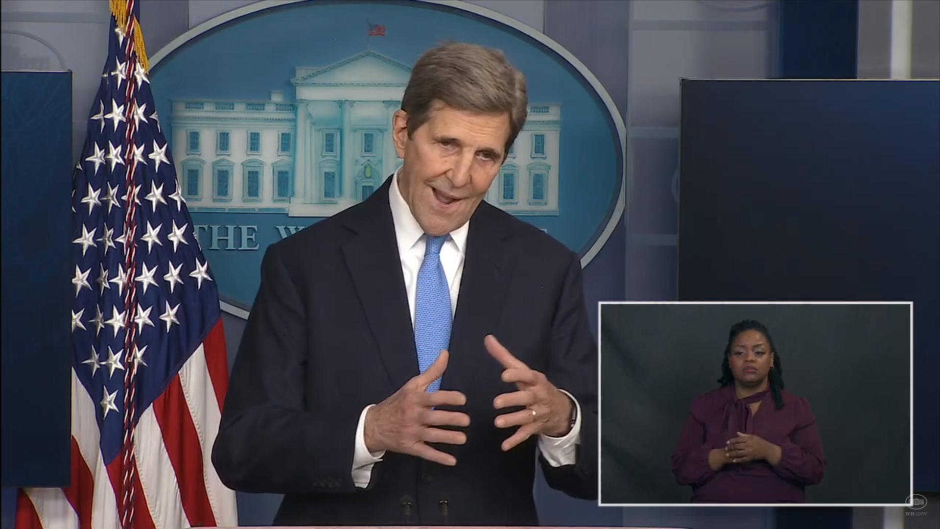 """IMAGEM: John Kerry: o Acordo de Paris """"não é suficiente"""""""