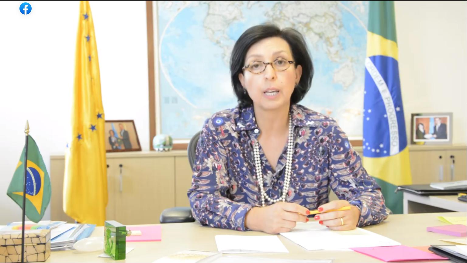 IMAGEM: Renan quer ouvir embaixadora que representou o Brasil na OMS