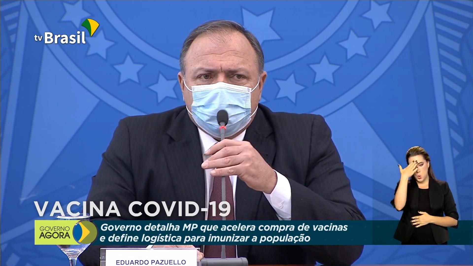 """IMAGEM: Pazuello fala em """"alto grau de incompreensão"""" da imprensa"""
