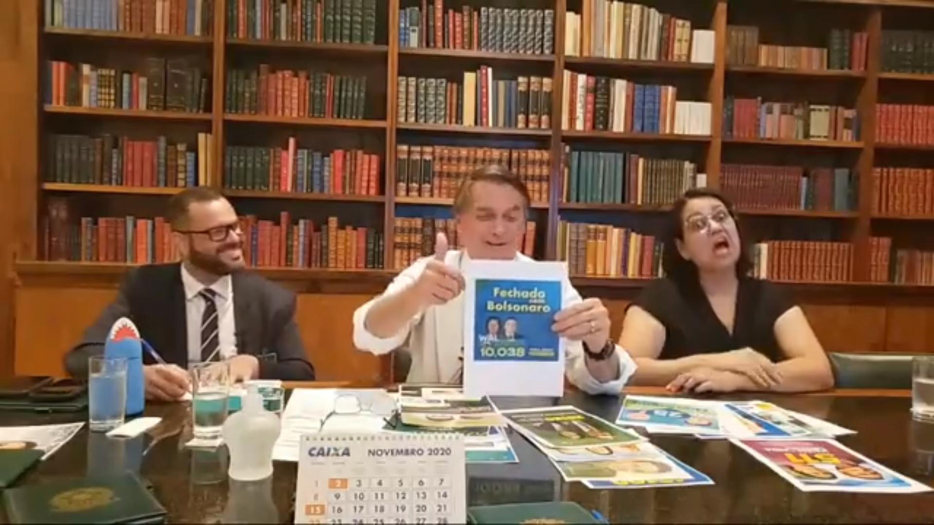 IMAGEM: Emendas extras liberadas pelo governo beneficiam aliados de Bolsonaro