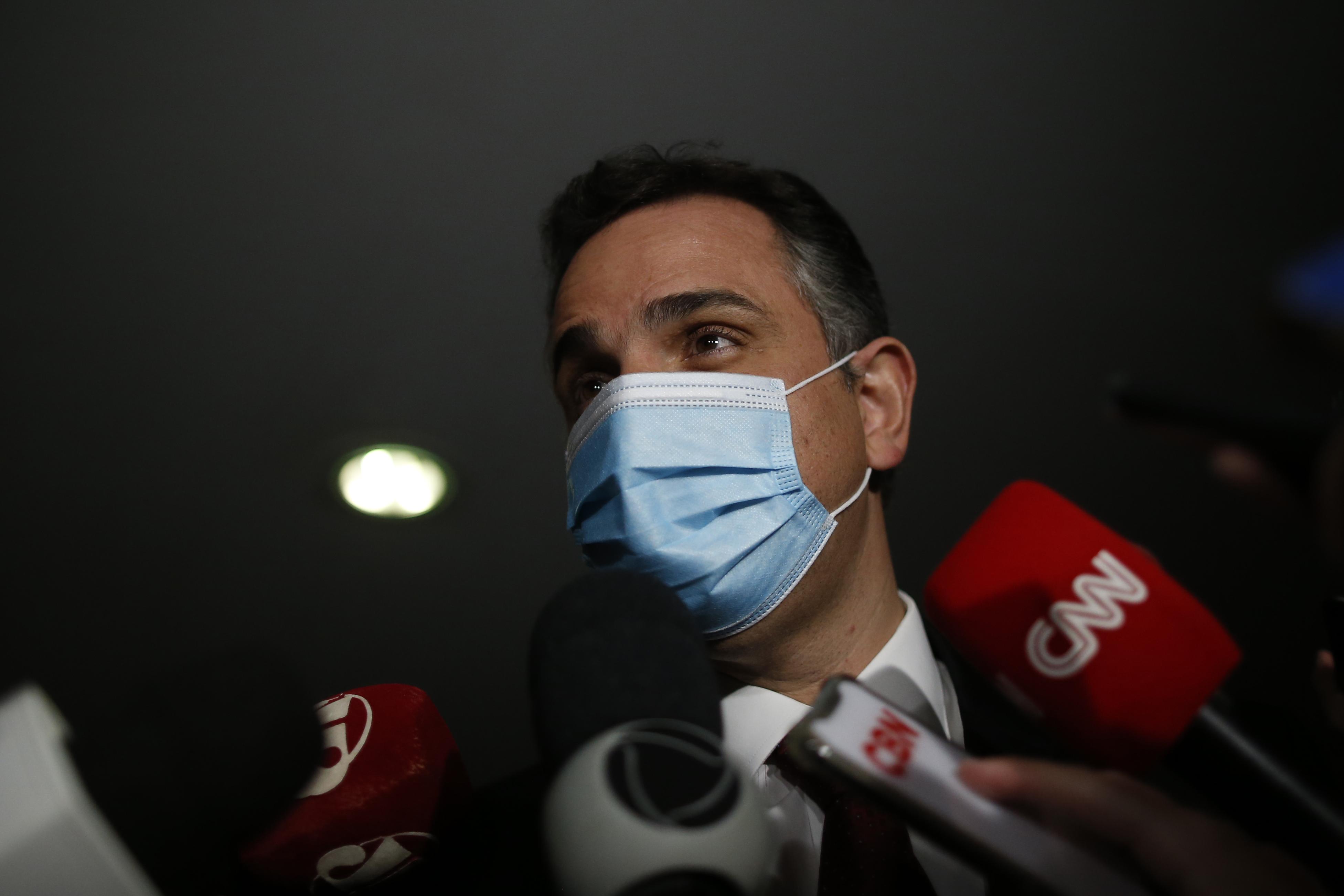 """IMAGEM: """"Impeachment de ministros do STF não é recomendável"""", diz Pacheco"""