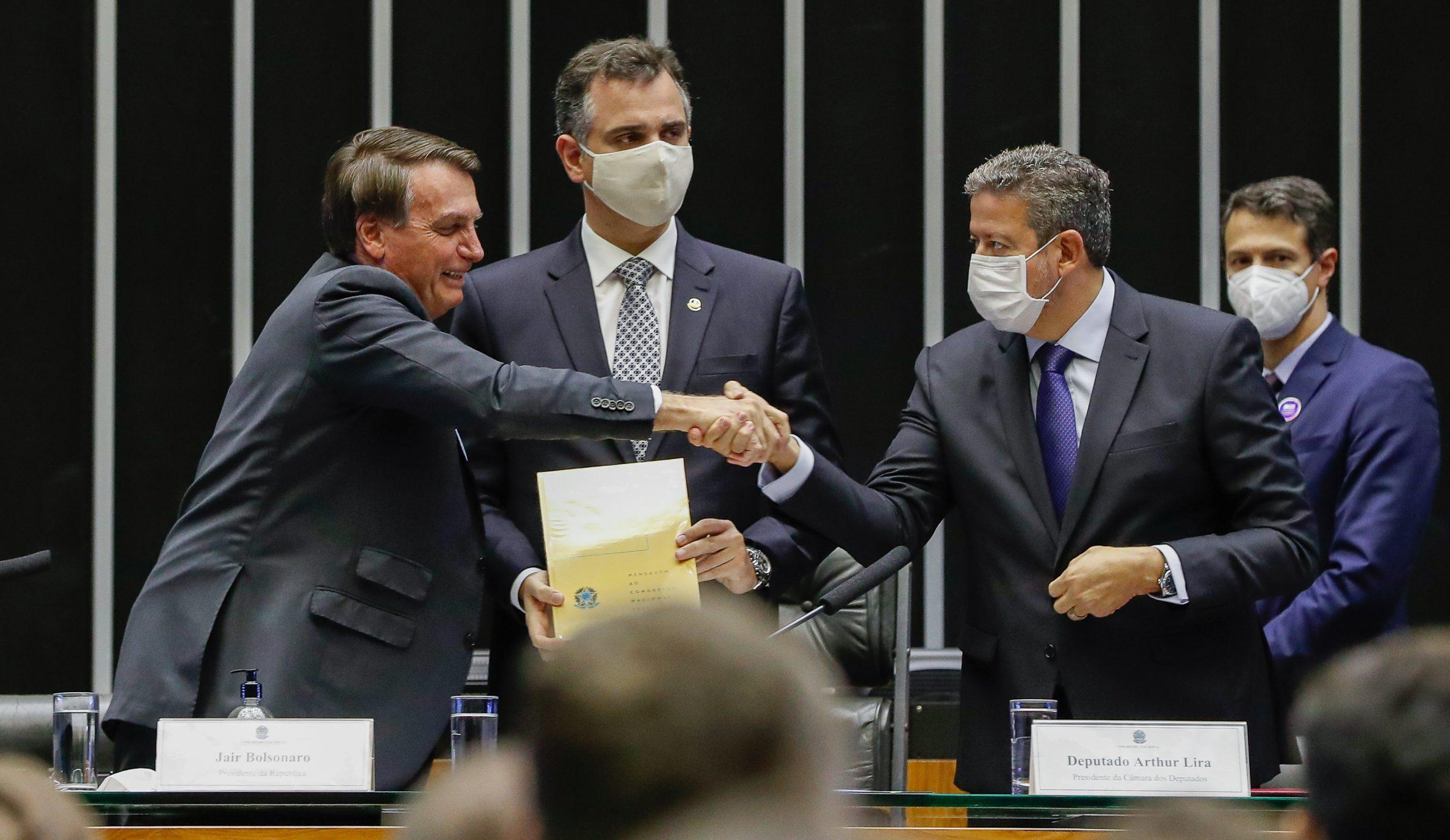 """IMAGEM: """"Bolsonaro e Centrão, essa é a pior combinação"""""""