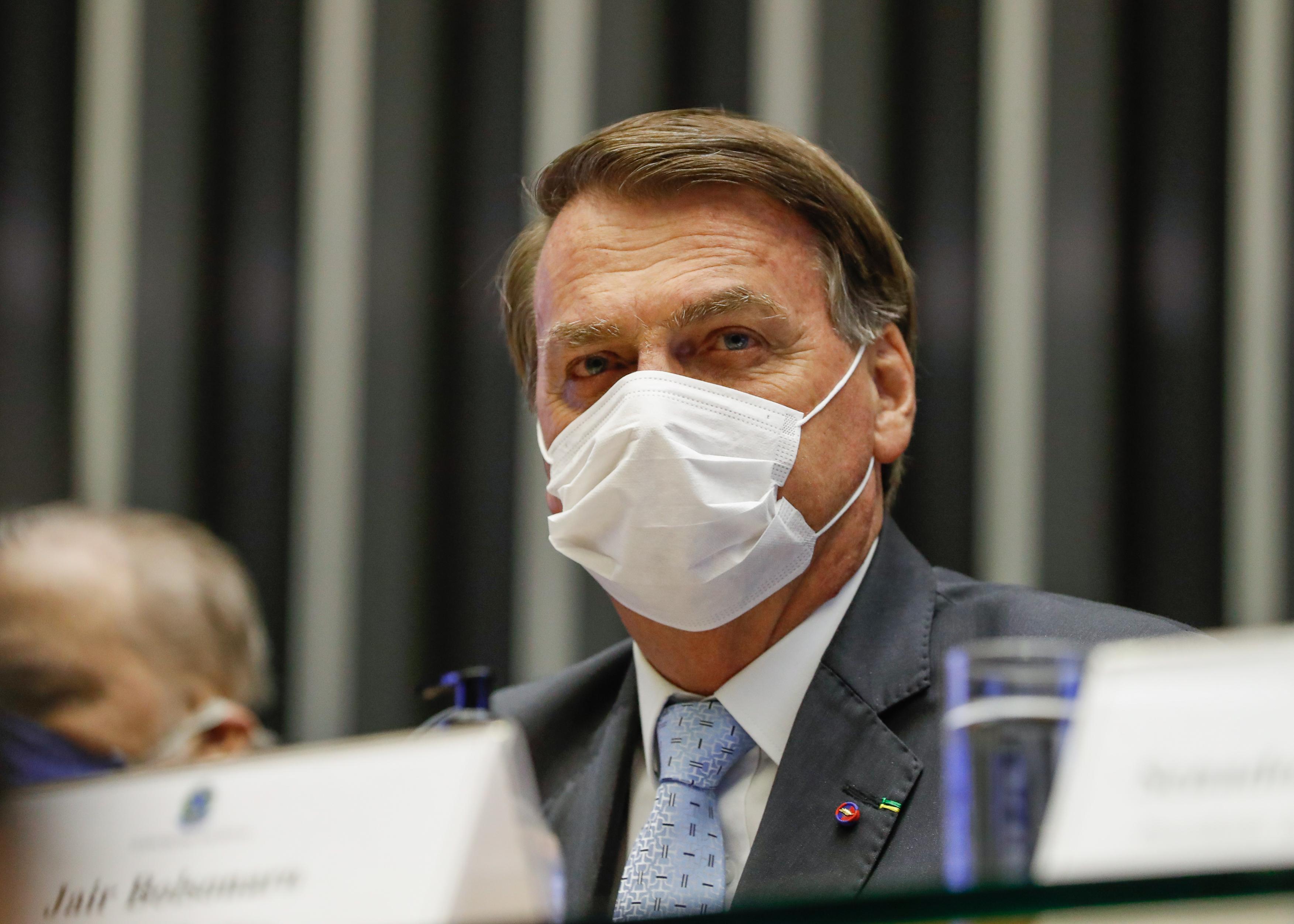 IMAGEM: Após alta no preço dos combustíveis, Bolsonaro promete mudanças na Petrobras